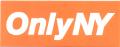ONLY NY ''LOGO'' ステッカー オレンジ