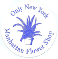 ONLY NY ''Manhattan Flower'' ステッカー