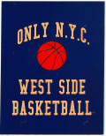 ONLY NY ''WEST SIDE'' ステッカー ネイビー