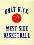 ONLY NY ''WEST SIDE'' ステッカー ベージュ