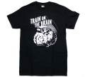 "UNDERPRESSURE ""Train On The Brain"" Tシャツ ブラック"