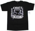 OBEY  ''BEHAVE YOURSELF'' Tシャツ 2色展開
