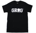GROG オフィシャルロゴ Tシャツ 2色展開