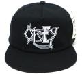 OBEY HAUNT スナップバック CAP ブラック