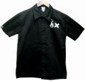 ART SIDE  S/Sワークシャツ ブラック
