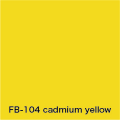 FLAME 104 cadmium yellow