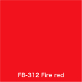FLAME 312 fire red