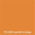 Flame orange  pastel orange FO-202