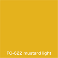 Flame orange mustard light FO-622