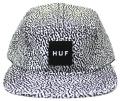 HUF  ''MEMPHIS BOX LOGO VOLLEY  '' 5パネルCAP ホワイト