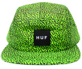 HUF  ''MEMPHIS BOX LOGO VOLLEY  '' 5パネルCAP ライム