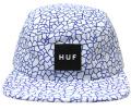 HUF  ''QUAKE VOLLEY  '' 5パネルCAP ホワイト