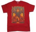 BigFoot Tシャツ 01 バーガンディー