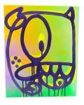 CASPER 直筆キャンバス サイズ(35cm×28cm)