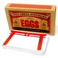 ''EGGSHELL ×calmaart.jp'' limited edition  ''kekkai sticker''50枚入り