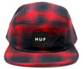 HUF  ''SHADOW PLAID VOLLEY '' レッド