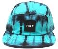 HUF  ''STATIC VOLLEY '' 5パネルCAP  ターコイズ