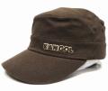 Kangol コットン ツイル ARMY CAP ブラウン