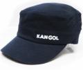 Kangol コットン ツイル ARMY CAP ネイビー