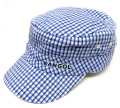Kangol FENCE PLAID ARMY CAP ブルーチェック