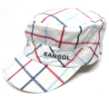 Kangol BOLD PLAID ARMY CAP ホワイトチェック