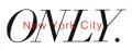 ONLY NY ''City LOGO'' ステッカー ホワイト