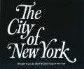 ONLY NY ''The City Of New York'' ステッカー