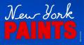 ONLY NY ''PAINTS'' ステッカー ブルー