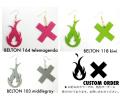 """ARTSIDE WA2デザイン """"LOGO"""" ピアス ◆ BELTONカラー ※オーダーメイド"""