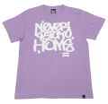 ARTSIDE ROGUEデザイン ''NEVER STAY HOME'' ベーシック Tシャツ 5色展開