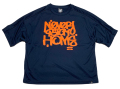 ARTSIDE ROGUEデザイン ''NEVER STAY HOME'' ドライルーズ Tシャツ 3色展開