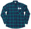 ART SIDE  L/S チェックネルシャツ 5色展開