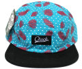 Chuck originals ''CHILL CAMPER'' 5パネルCAP アクア