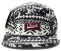 Chuck originals ''WINTER Camper'' 5パネルCAP ブラック