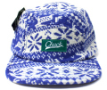 Chuck originals ''WINTER Camper'' 5パネルCAP ブルー