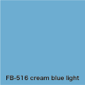 FLAME 516 cream blue light