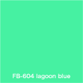 FLAME 604 lagoon blue