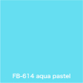 FLAME 614 aqua pastel