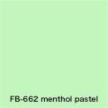 FLAME 662 menthol pastel