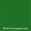 FLAME 674 turquoise dark