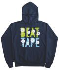 """101apparel  """"BEAT TAPE"""" ダウンロードカード付き フードスウェット"""