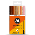 MOLOTOW ONE4ALL 127HS  キャラクターセット Pump Marker 6本セット