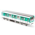"Mini Subwayz ""Paris""  ペーパークラフト"