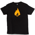 FLAME Logo ロゴ Tシャツ 2色展開