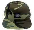 OBEY DOWNTOWN スナップバック CAP フィールドカモ