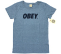 OBEY  ''FONT'' Tシャツ 2色展開