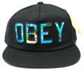 【SALE】 OBEY  ストラップバック CAP ''WHARF'' ブラック