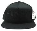 【SALE】 OBEY  スナップバック CAP ''DIVISADERO'' ストラップバック CAP ブラック
