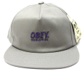 【SALE】 OBEY  スナップバック CAP ''PORTLAND'' エレファント