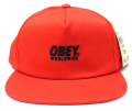 【SALE】 OBEY  スナップバック CAP ''PORTLAND'' レッド
